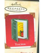 Hallmark Keepsake Ornament 2002 Teacher New In Box - $5.99