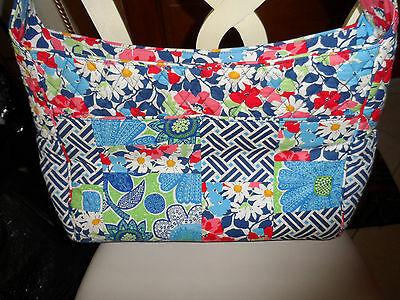 Vera Bradley Summer Cottage patchwork Medley baby tote bag image 3