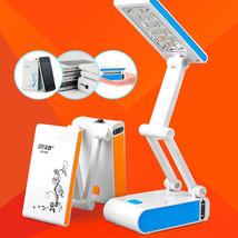 Portable Lamp Table LED 14 Bulb Bright Light Reading Folding Battery Pow... - $8.96