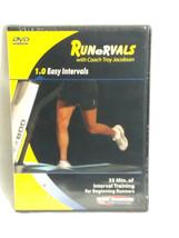 Runervals 1.0 Easy Intervals Treadmill DVD Running Workout Coach Troy Ja... - $18.66