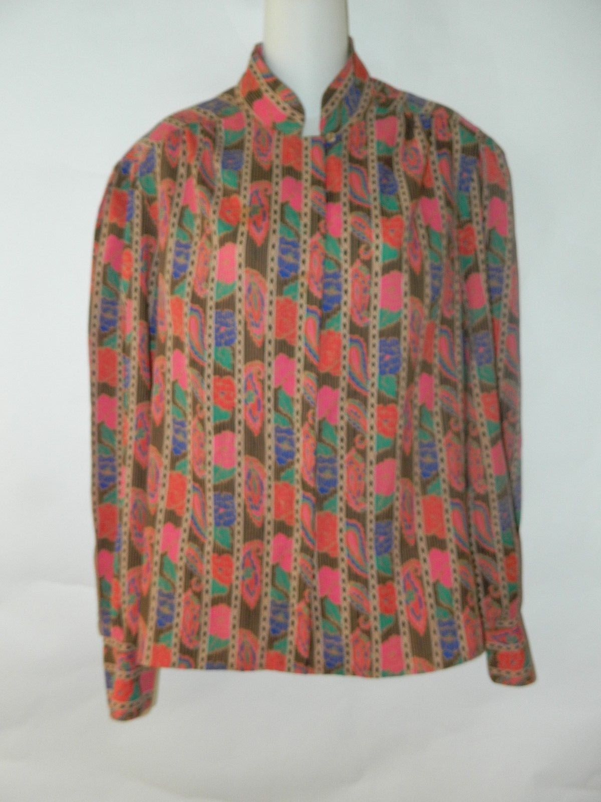8513e19701d504 Vintage Ship N Shore Womens Statement Blouse and 50 similar items