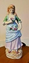 Woman Mujae China Cermanic  Figurine - $64.36