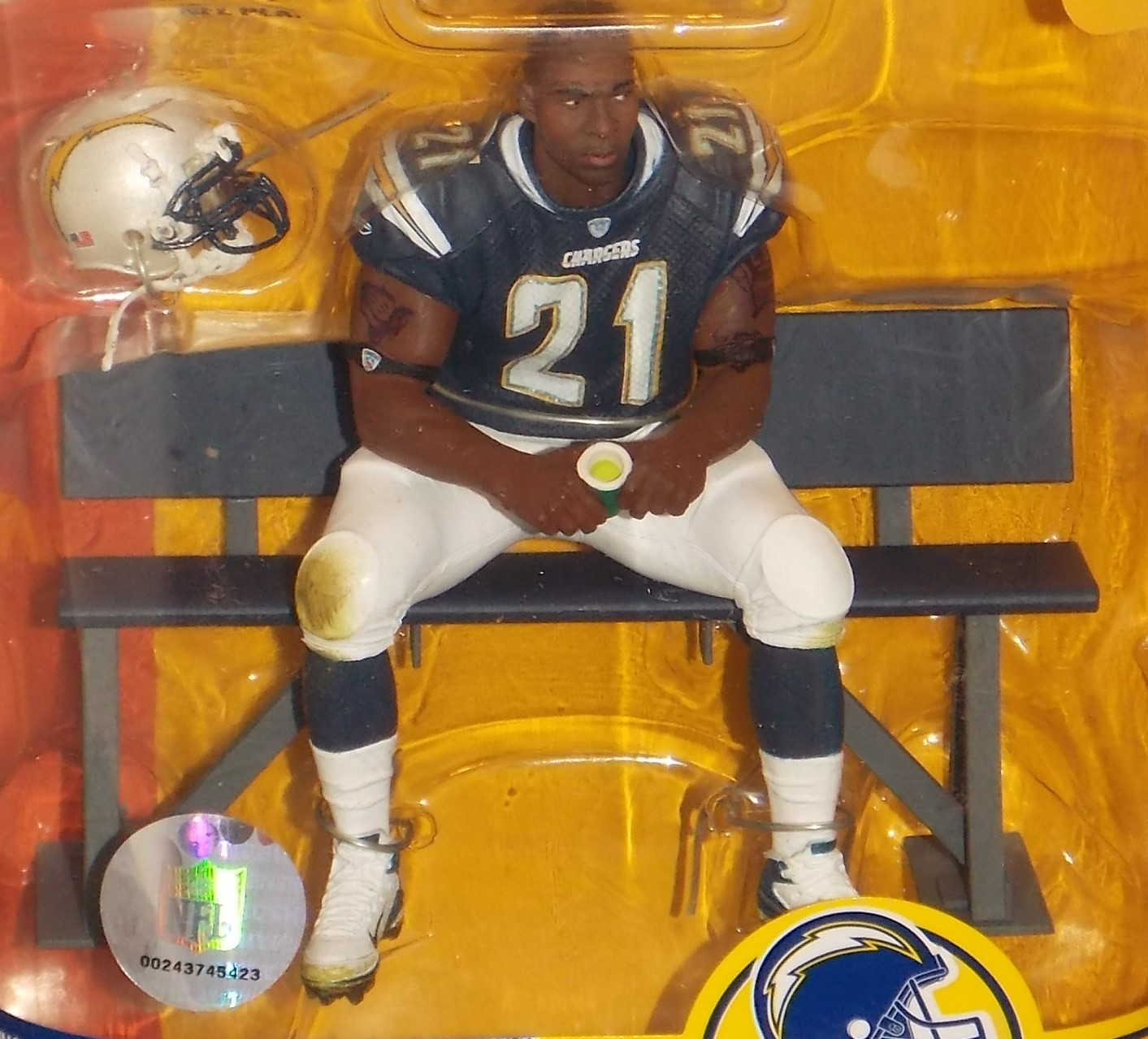 2007 McFarlane  NFL LaDainian Tomlinson San Diego Chargers Figure New In Package image 3