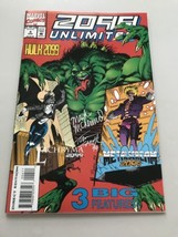2099 Unlimited (1993) #4 Signed by Mark McKenna and Tom Smith VF Very Fine - $29.70