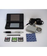Nintendo DSi Black System with Built-in Camera DS Games Spider Man King ... - $54.99