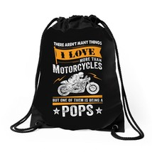 Motorcycles Pops Drawstring Bags - $30.00