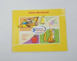 Hooked On Phonics Get Ready To Read Yellow Workbook - $9.94