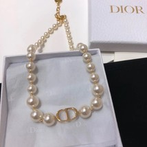AUTH Christian Dior 2019 J'ADIOR Limited Ed Necklace Chain Choker Gold image 2
