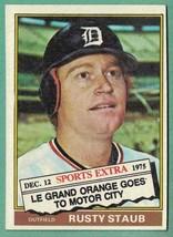 1976 Topps Traded Rusty Staub EX-MT #120T - $1.50