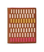Fossil SL7523664 RFID Passport Woven Pink Multi This & That leather wallet NWT*^ - $40.09