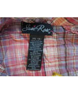 Womens Shirt XXL(19) Susie Rose Pink Plaid TF249/ALS - $8.93
