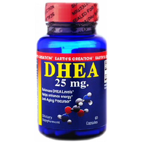 DHEA 25mg by Earth's Creation