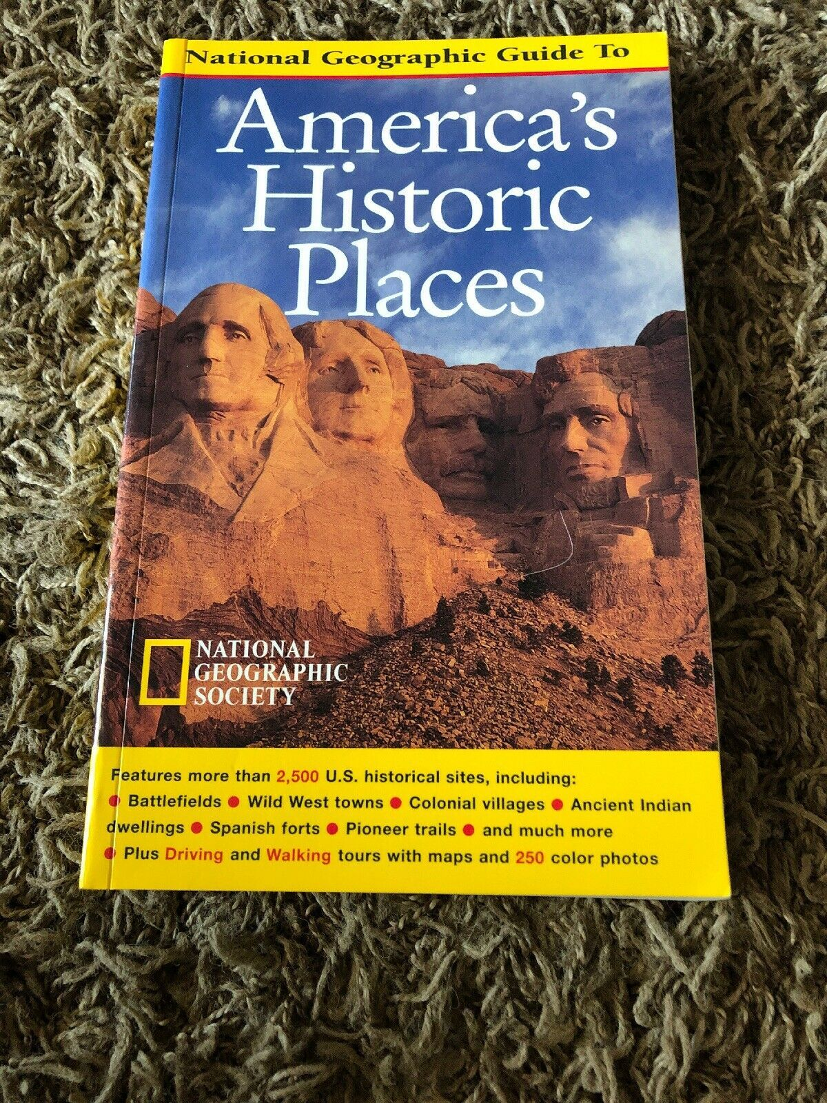 Primary image for America's Historic Places by Thomas Schmidt and Michael Lewis (1997,...