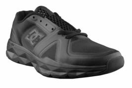 DC Shoes Men' s Unilite Flex Trainer Pitch Black Running Shoes Sneakers 7 39 NIB