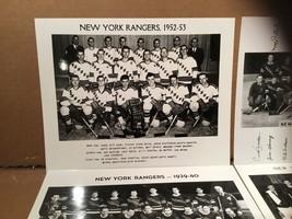 NHL New York Rangers Team Photo 1952-53 - $5.44