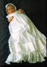 1985 Book Of Smocking Guide 20 Project Christening Dress Bonnet Diana Keay HC DJ - $13.99
