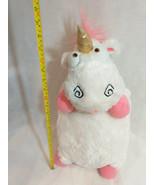 "24"" Despicable Me pink gold Unicorn Pillow Plush Universal Studios disne... - $0.98"