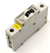 Siemens 5SX2 C4 Single Pole Circuit Breaker 4 Amp 230/400V - $8.99