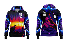 The Egg  Full over Print Zipper Hoodie for Women - $35.99+