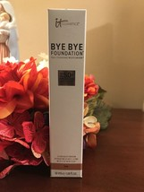 SEALED TOP & Bottom IT Cosmetics BYE BYE FOUNDATION **TAN ** Full Size F... - $49.50