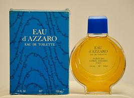 Loris Azzaro Eau D'Azzaro Eau de Toilette Edt 120ml 4 Fl. Oz. Splash Unisex 1981 - $300.00