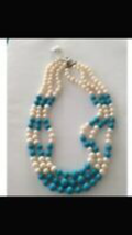 triple strand beaded necklace: find your island girl - $24.99
