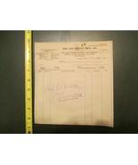 Van Brunt Mfg Company Horicon Wisconsin WI 1912 Invoice Letterhead 1261 - $10.99