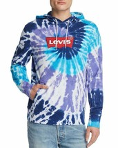 NWT LEVIS JEANS Tie Dye Hoodie Sweatshirt sz XL - $51.23