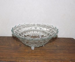 Vintage Indiana Glass Whitehall 10 Inch Footed Bowl - $7.00