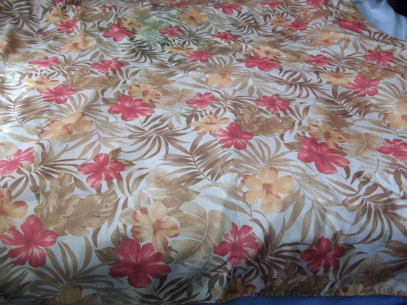 """Tablecloth  Warm Colors 54"""" x 80""""  Print"""