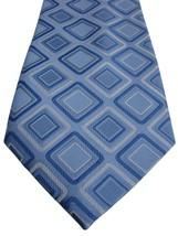 Pierre Cardin Tie Blue & White Squares - $22.14