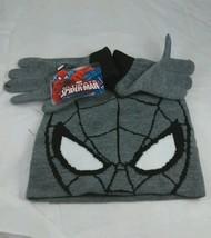 Marvel's Ultimate Spider-Man hat glove set - $12.34