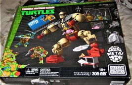 Mega Bloks - Teenage Mutant Ninja Turtles Krang's Rampage Set (new) image 3