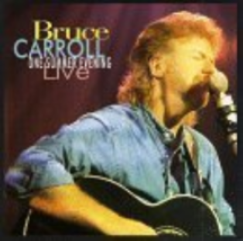 One Summer's Evening Live by Bruce Carroll Cd