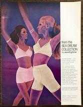 1968 Maidenform Sea Dream Collection Shape Mates Print Ad Briefs Bras Lo... - $12.69