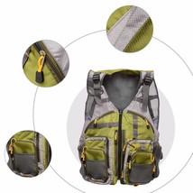 Hunting Vests Breathable Durable Waterproof Adjustable Fishing Wear Nylo... - $48.50