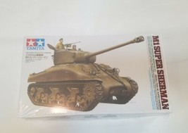 1/35 Tamiya 35322 - Israeli Tank M1 Super Sherman Model Kit - NEW IN OPE... - $59.40