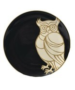 Patch NYC Target Woodland Animals Set Of 4 Lunch Salad Plates Fox Owl De... - $24.74