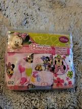 Disney Minnie Mouse Bowtique Toddler Girls 3pk Panties Sz. 6 - $3.91