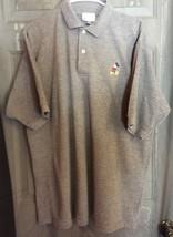 Vintage Disney Parks Authentic Original Mickey Mouse Grey Polo Golf Shirt XL - $11.30