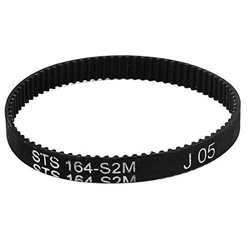 uxcell 6mm Width 82 Teeth Engine Rubber Timing Belt 164mm Pitch Long S2M-164