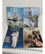 GEO Magazine 1982 May June September November - $14.95