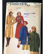 Butterick Sewing Pattern 5078 SZ 16 Coat Jacket Uncut - $5.89