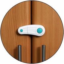 Safe-O-Kid- Pack of 2, Durable, Elegant Child Safety Cabinet Lock - Blue - $22.54