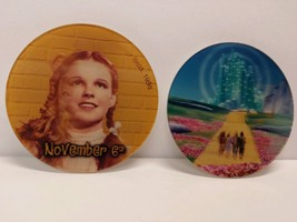The Wizard Of Oz 1998 Dvd Movie Release Promo Promotional Pinback Pin Bu... - $19.29