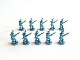 10x Risk 40th Anniversary Edition Board Game Metal Soldier Infantry Blue... - $16.99
