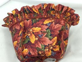 Longaberger Fall Foliage Liner Only Little Pumpkin Basket 26368 Vintage - $29.69