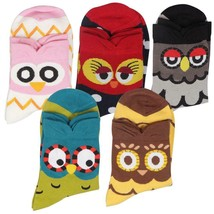 Cute Animal Patterned Women's Socks Set 5 Pairs Cotton Casual Low-Cut St... - $13.99