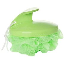 Set of 3 Creative Super Soft Massage Bath Ball Bath Brush Bath Flowers(Green)
