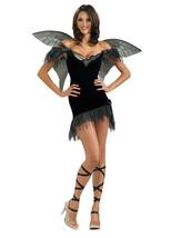 Womens Fairy Costume Medium Rubies Secret Wished Dark Fairy 888694 with ... - $48.00